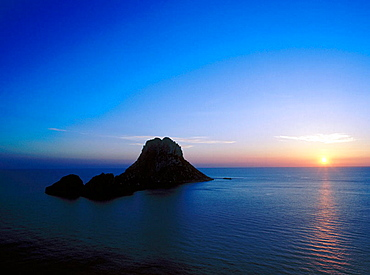 Es Vedra and Es Vedranell small islands, Ibiza, Balearic Islands, Spain