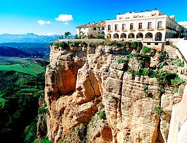 Parador de turismo (state-owned hotel) of Ronda, Malaga province, Spain