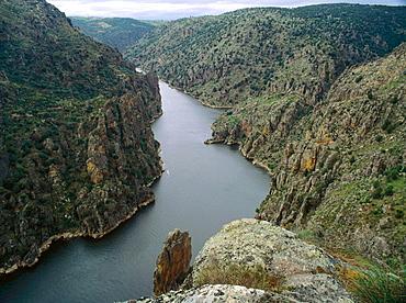 Arribes del Duero in Zamora province, Castilla-Leon, Spain