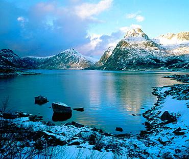 Flakstadoya Island, Lofoten Islands, Norway
