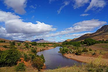 Landscape on the RN7 close to Ambalavao, Fianarantsoa province, Ihorombe Region, Southern Madagascar