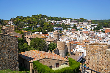 Tossa de Mar, Costa Brava, Catalonia, Spain, Mediterranean, Europe