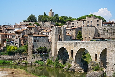 Besalu, Girona province, Catalonia, Spain, Europe
