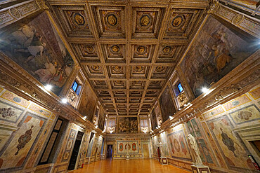 Manto Hall, Palazzo Ducale di Mantova, Mantua, Lombardy, Italy, Europe