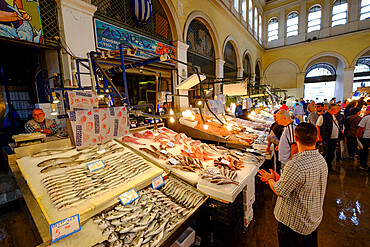 Central Municipal Athens Market, Athens, Greece, Europe