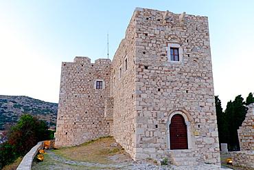 Castle of Lykourgos Logothetis, Pythagorio, Samos, North Aegean Islands, Greek Islands, Greece, Europe
