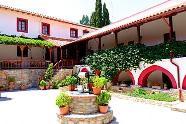 Moni Megalis Panagias Monastery, Samos, North Aegean Islands, Greek Islands, Greece, Europe