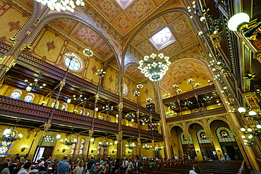 Dohany Street Synagogue, Budapest, Hungary, Europe
