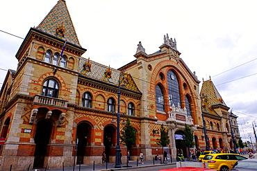 Nagyvasarcsarnok Central Market, Budapest, Hungary, Europe