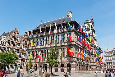 Antwerp City Hall, Antwerp, Belgium, Europe