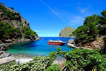 Port de Sa Calobra, Majorca, Balearic Islands, Balearic Islands, Spain, Mediterranean, Europe