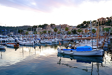 Port de Soller, Majorca, Balearic Islands, Spain, Mediterranean, Europe
