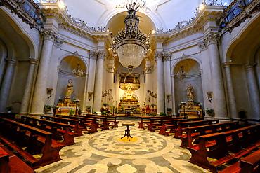 Badia di Sant'Agata Church, Catania, Sicily, Italy, Europe