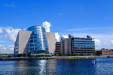 The Convention Centre Dublin on the North Quay, Liffey River, Dublin, Republic of Ireland, Europe