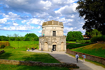 Mausoleum of Theoderic, UNESCO World Heritage Site, Ravenna, Emilia-Romagna, Italy, Europe