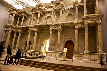 The market gate of Miletus at Pergamon Museum, Berlin, Germany, Europe