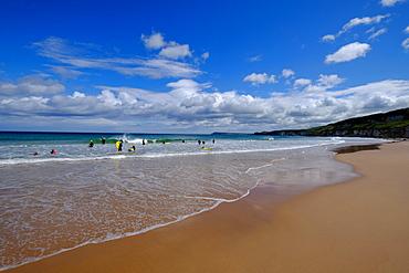 White Rocks beach, near Portrush, County Antrim, Ulster, Northern Ireland, United Kingdom, Europe