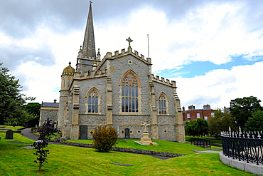 St. Columb's Cathedral in the walled city of Derry, Ulster, Northern Ireland, United Kingdom, Europe