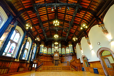 The Guildhall in Derry, County Londonderry, Ulster, Northern Ireland, United Kingdom, Europe
