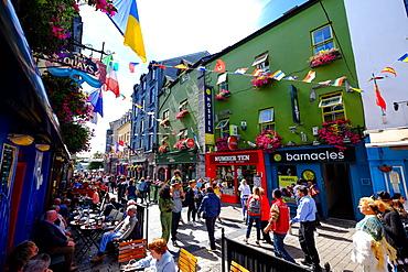 High street, Galway, County Galway, Connacht, Republic of Ireland, Europe