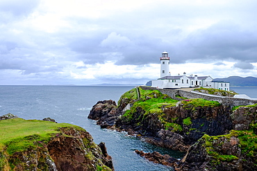 Fanad Head Lighthouse, County Donegal, Ulster, Republic of Ireland, Europe
