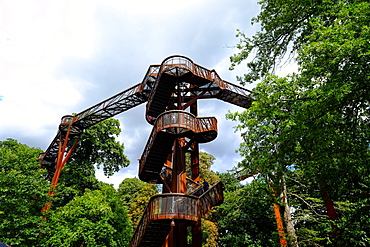 Treetop Walkway, Kew Gardens, UNESCO World Heritage Site, London, England, United Kingdom, Europe