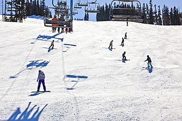 Whistler Blackcomb Ski Resort, Whistler, British Columbia, Canada, North America