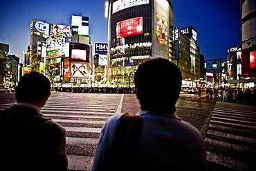 Hachiko crossing, Shibuya, Tokyo, Japan, Asia