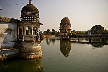 Lakshman Mandir temple in Chanderi, Madhya Pradesh, North India, Asia