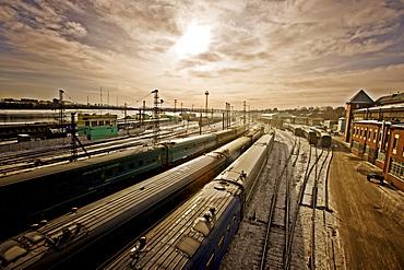 Irkutsk Train Station, Siberia, Russia, Europe