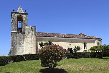Church of Santa Maria de Alcacova, designed by Francisco Pires, within the castle at Montemor-o-Velho, Beira Litoral, Portugal, Europe