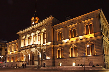 Tampere Town Hall, neo-renaissance style, Georg Schreck designed and built 1890, Central Square (Keskustori), Tampere, Finland, Scandinavia, Europe