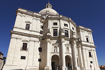 The Portuguese National Pantheon, in the 17th century Church of Santa Engracia, a national monument, in Alfama, Lisbon, Portugal, Europe