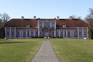 Sagadi Manor House, a historic Baltic German property in Lahemaa National Park, Estonia, Europe