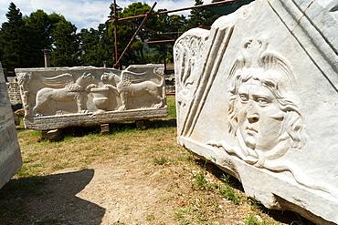 The Roman ruins of Solin (Salona), region of Dalmatia, Croatia, Europe
