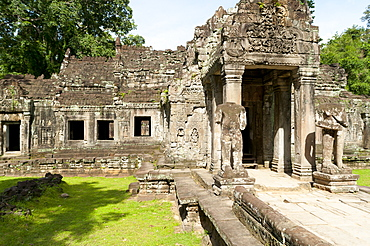 Preah Khan, UNESCO World Heritage Site, Angkor, Siem Reap, Cambodia, Indochina, Southeast Asia, Asia