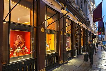 Cartier, New Bond Street, London, England, United Kingdom, Europe