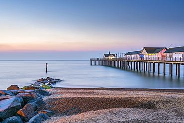 Southwold Pier, Southwold, Suffolk, England, United Kingdom, Europe