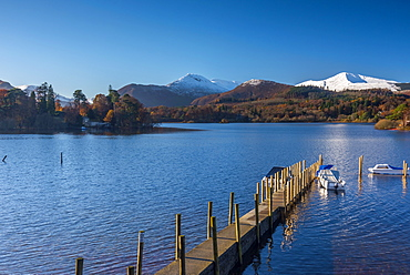 Derwentwater, Keswick, Lake District National Park, Cumbria, England, United Kingdom, Europe