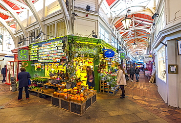 Covered Market, Oxford, Oxfordshire, England, United Kingdom, Europe