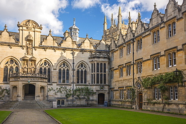 Oriel College, University of Oxford, Oxford, Oxfordshire, England, United Kingdom, Europe