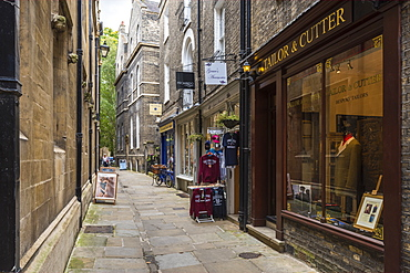 Shops in All Saints Passage, Cambridge, Cambridgeshire, England, United Kingdom, Europe