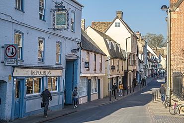 The Pickerel Inn pub, Magdalene Street, Cambridge, Cambridgeshire, England, United Kingdom, Europe