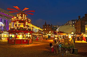 Christmas Market, Oxford Street, London, England, United Kingdom, Europe