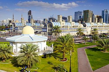 Central Souq (Blue Souq) (Souq al-Markazi), Sharjah, United Arab Emirates, Middle East