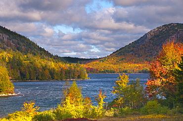 Eagle Lake, Acadia National Park, Mount Desert Island, Maine, New England, United States of America, North America