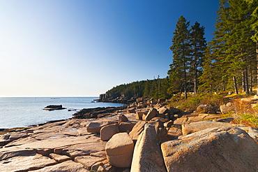 Acadia National Park, Mount Desert Island, Maine, New England, United States of America, North America