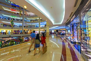 Suria KLCC Shopping Mall, Petronas Towers, Kuala Lumpur, Malaysia, Southeast Asia, Asia
