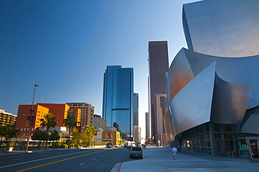 Walt Disney Concert Hall, Downtown, Los Angeles, California, United States of America, North America