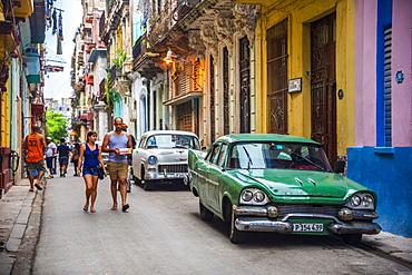 La Habana Vieja (Old Havana), UNESCO World Heritage Site, Havana, Cuba, West Indies, Caribbean, Central America